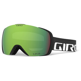 Giro Contact Maschera, black/vivid emerald/vivid infrared